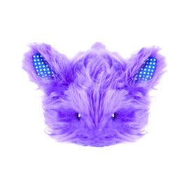 PETSTAGES  NIGHTTIME CUDDLE TOY BUNNY PURPLE