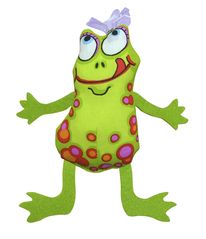 PETSTAGES MADCAP FROG & FLY