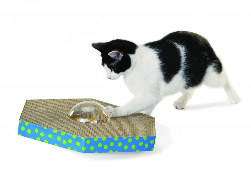 PETSTAGES WOBBLE & SCRATCH