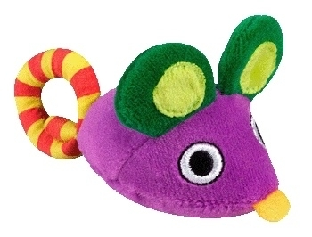 PETSTAGES CARRY CRITTERS MOUSE