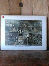 Oude Schoolplaat Cornelis Tromp 'daar komt Bestevaer'