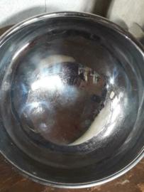 Oude Brocante Silverplate Hotelzilver Cloche Foodcover