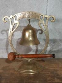Oude Vintage Messing Koperen Bellen Gong