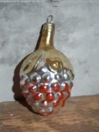 Oude Antieke Russisch Kerstbal 4754 Druiventros