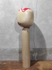 Oude Vintage Japanse Kokeshi Houten Pop Doll Togatta