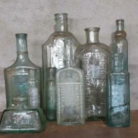Inspiratie Oude Antieke Flesjes Apotheek Bodemvondst