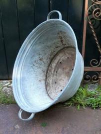 Oude Brocante Zinken Teil 61 cm