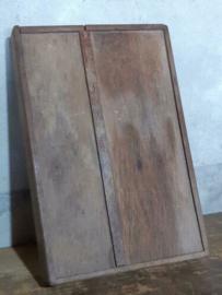 Oude Antiek Vintage Tuigendoos Tuigenkist