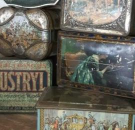 Inspiratie Oude Antieke Blikken