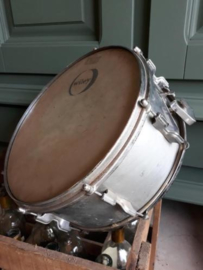 Oude brocante Metalen Trommel Drum