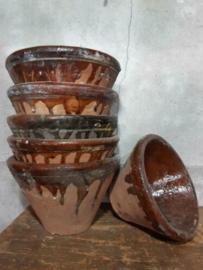 Oude Brocante Terracotta Harspot