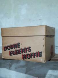 Oude Vintage Doos Winkelverpakking Douwe Egberts Koffie