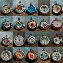 Inspiratie Oude Antiek Vintage Kerstballen Deukballen