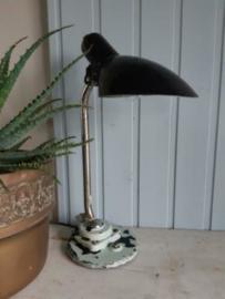 Oude Vintage Industrieel Lampje Bureau Bureaulamp
