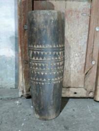 Oude Sober Houten Indiase Trommel Drum