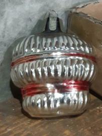Oude Antiek Vintage Kerstbal 4546 Mandje