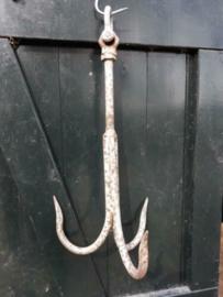 Oude Vintage Metalen Dreghaak Anker Haak