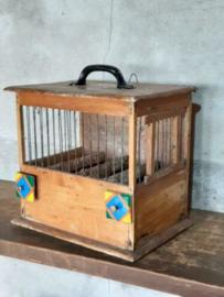 Oude Vintage Vogelkooi Kooi Vinkenkooi