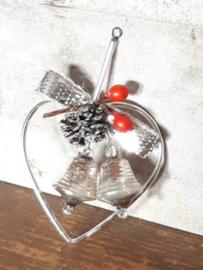 Oude Antieke Kerstbal  4639 Gablonzer Hanger