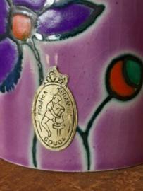 Oud Vintage Mid Century Keramiek Modica Gouda 224 Vaasje