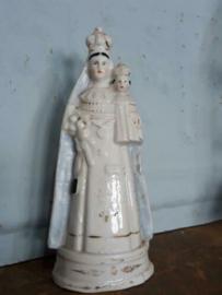 Oud Antieke Maria Beeld Mariabeeld Andenne of Brussels Porselein