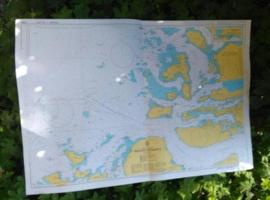 Oude Nautische Zeekaart Noorwegen - West Kust Breidsunddjupet