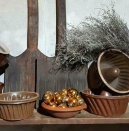 Inspiratie Oude Antieke Franse Grespotten en Tulband Bakvorm