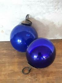 Heksenbal Heksenbol Kerstbal Blauw
