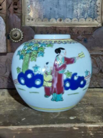 Oude Vintage Chinese Gemberpot