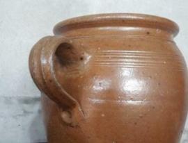 Oude Antiek Brocante Grespotten & Oliekruiken