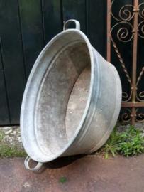 Oude Brocante Zinken Teil 64 cm