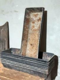 Oude Brocante Metalen Bakvorm Bakje