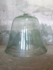 Oude Antieke Glazen Victoriaanse Meloen Cloche Melon Moestuin