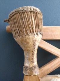Oude Antieke Trommel Drum Bougarabou uit Guinea