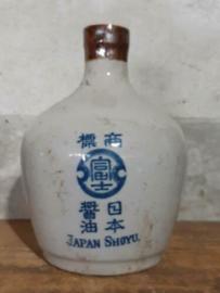 Oud Antiek Vintage Shoyu Soja Flesje Japan