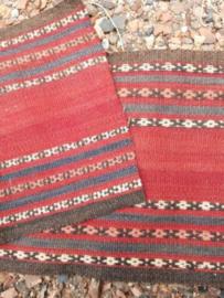 Oud Vintage Perzisch Kelim Vloerkleed Stof DIY - Anatolia Kilim Turkije