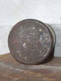 Oud Brocante Frans Blik Antique Tin The Compagnie Coloniale