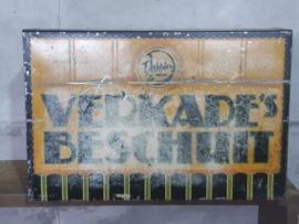 Oude Antiek Vintage Verkade Blikken