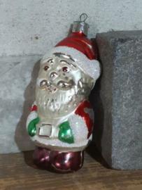 Oude Antieke Russisch Kerstbal 4855 Kerstman