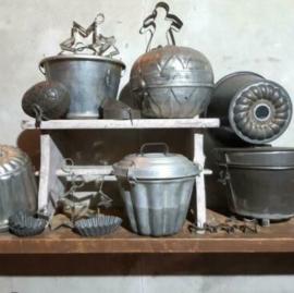 Inspiratie Oude Brocante Poffert en Bakvormen