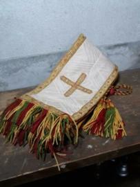 Oude Antieke Liturgische Stola Kledij