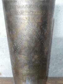 Oude Antieke Koperen Metalen Beker Bruidsbeker Lasso Bruiloft