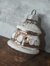Oude Antiek Vintage Kerstbal  2335 Lampion