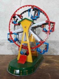 Oud Vintage Blikken Speelgoed - China - Reuzenrad MS239