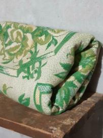 Oud Brocante Authentiek Hongaars Kleed Vloerkleed Tafelkleed Wandkleed