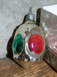 Oude Antieke Kerstbal 4662 Lampion