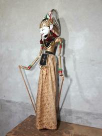 Oude Antiek Vintage Wajang Pop Wayang Wajangpop Golek