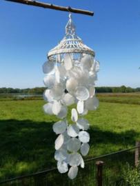 Unieke Kroonluchter - Schelpenhanger Schelpenlamp Capiz Schelpen 100 cm