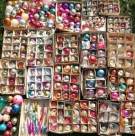 Inspiratie Oude Antieke Russische Kerstballen