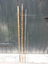 Oude Vintage Bamboe Vishengel